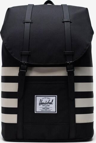Herschel Backpack 'Retreat' in Black