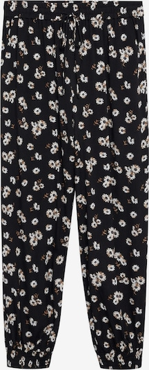MANGO Pants 'Kim' in Black: Frontal view