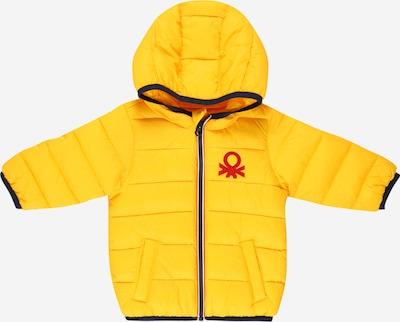 UNITED COLORS OF BENETTON Övergångsjacka i gul / röd, Produktvy