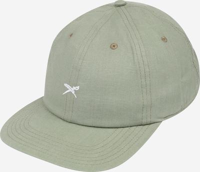 Iriedaily Lippalakki 'Faving Hemp' värissä vaaleanvihreä / valkoinen, Tuotenäkymä