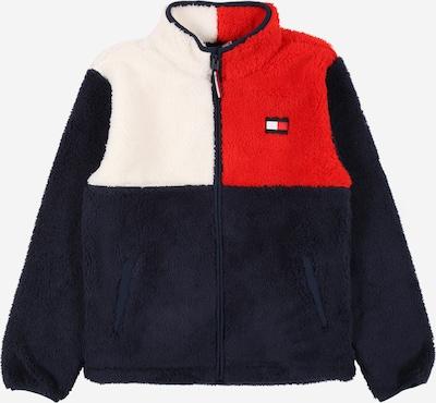 Flisinis džemperis iš TOMMY HILFIGER , spalva - tamsiai mėlyna / raudona / balta, Prekių apžvalga