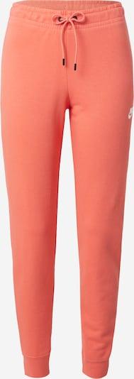 Pantaloni Nike Sportswear di colore salmone / bianco, Visualizzazione prodotti