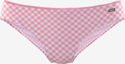 BUFFALO Bikinihose in pink / weiß, Produktansicht