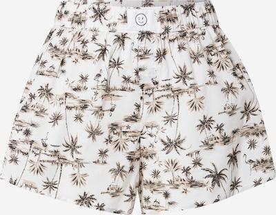 HOLLISTER Spodnie od piżamy w kolorze camel / czarny / białym, Podgląd produktu