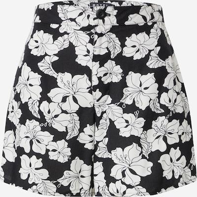 Pantaloni 'LALISA' Motel pe negru / alb, Vizualizare produs