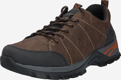 csokoládé / fekete RIEKER Fűzős cipő, Termék nézet