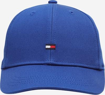 TOMMY HILFIGER Шапка с периферия в синьо / нейви синьо / червено / бяло, Преглед на продукта