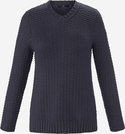Emilia Lay Pullover in blau / dunkelblau, Produktansicht