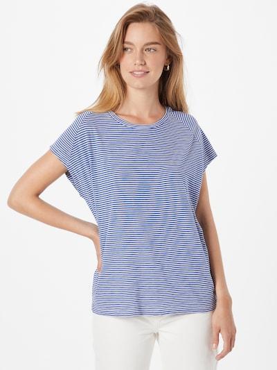ARMEDANGELS T-Shirt 'OFELIAA' in blau / weiß: Frontalansicht