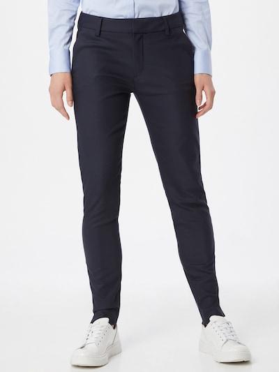 MOS MOSH Pantalon 'Abbey Night' en bleu marine, Vue avec modèle