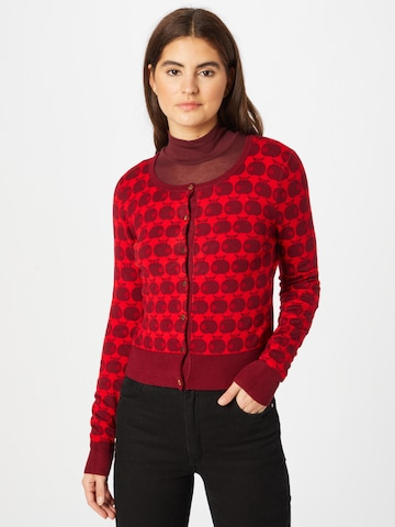 Blutsgeschwister Knit Cardigan in Red