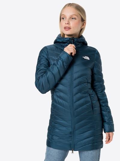 THE NORTH FACE Преходно палто 'Trevail' в тъмносиньо / бяло, Преглед на модела