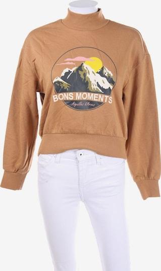 H&M Sweatshirt & Zip-Up Hoodie in XS in Camel, Item view
