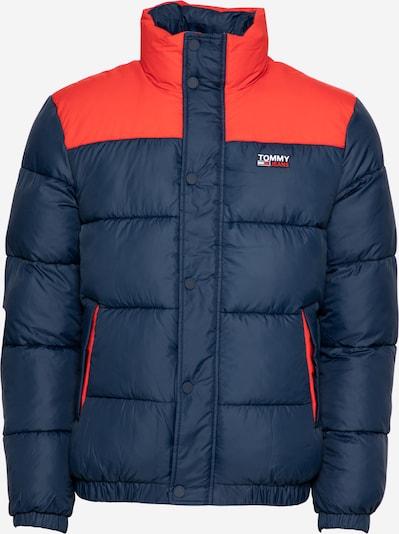 Žieminė striukė iš Tommy Jeans , spalva - tamsiai mėlyna / oranžinė-raudona, Prekių apžvalga
