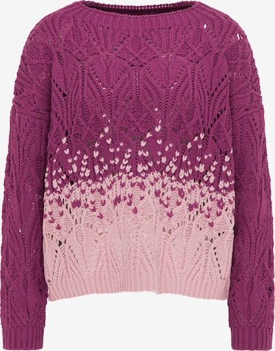 (nude) Pullover in beere / rosa, Produktansicht
