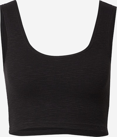WEEKDAY Top 'Elina' in de kleur Zwart, Productweergave