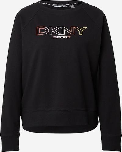 DKNY Performance Sweat-shirt en mélange de couleurs / noir, Vue avec produit