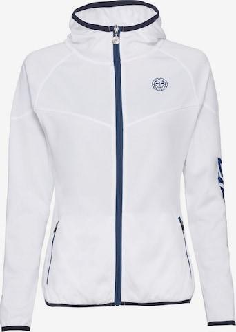 BIDI BADU Jacke Grace Tech mit kontrastfarbenen Details in Weiß