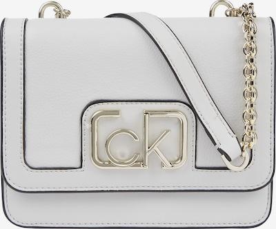 Calvin Klein Sac à bandoulière en argent / blanc, Vue avec produit