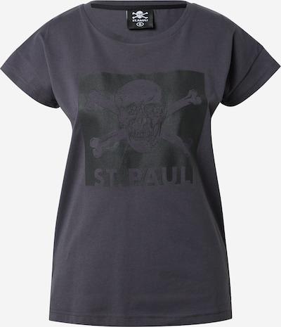 FC St. Pauli Camiseta en antracita / negro, Vista del producto
