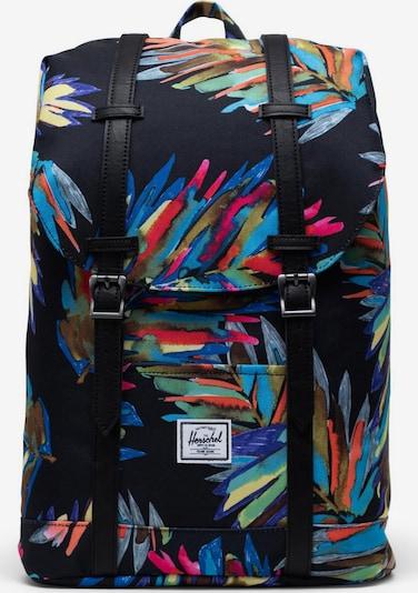 Herschel Sac à dos 'Retreat' en mélange de couleurs, Vue avec produit
