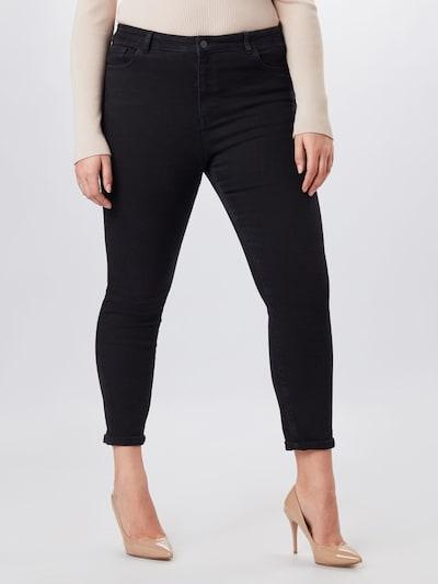 NU-IN Jeans in de kleur Black denim, Modelweergave