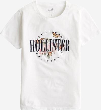 HOLLISTER Тениска в светлозелено / бледорозово / черно / бяло, Преглед на продукта