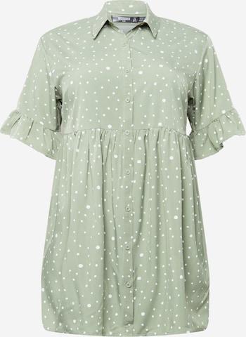 Missguided Plus Kleid in Grün