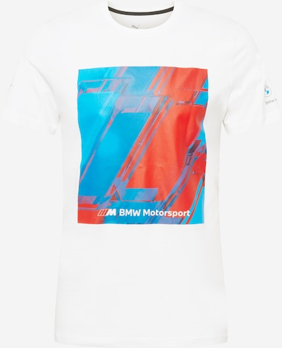 PUMA Sportshirt in blau / feuerrot / weiß, Produktansicht