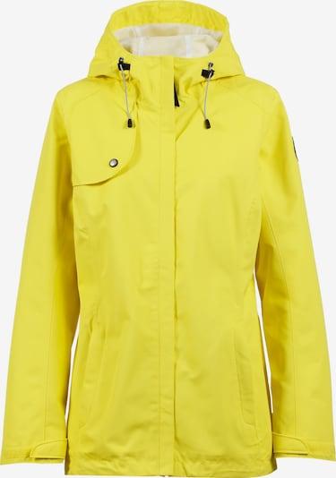 ICEPEAK Prehodna jakna 'ANIAK' | rumena / temno siva barva, Prikaz izdelka