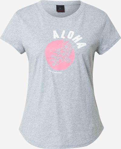 Bogner Fire + Ice T-shirt 'DEBRA' en gris / rose / blanc, Vue avec produit