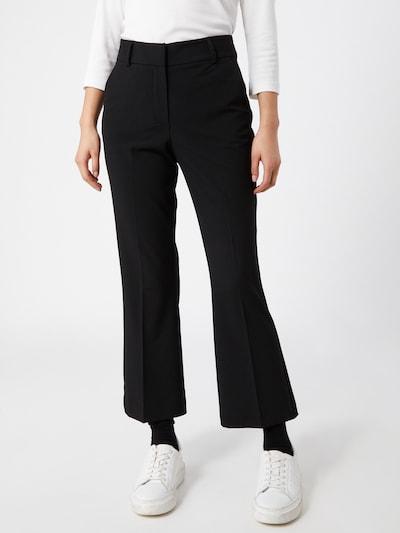 Pantaloni cu dungă 'Clara' FIVEUNITS pe negru, Vizualizare model
