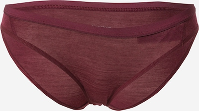 Icebreaker Športové nohavičky 'Siren' - vínovo červená, Produkt