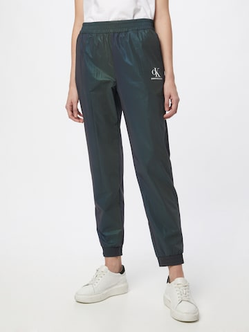 Calvin Klein Jeans Hose in Grün