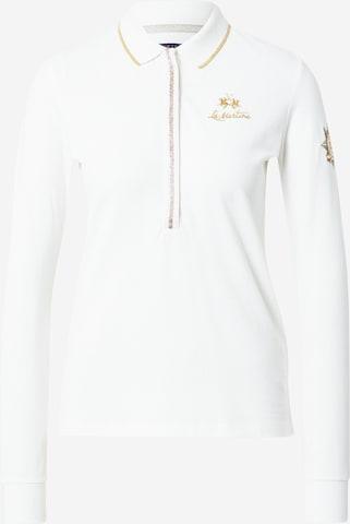 T-shirt La Martina en blanc