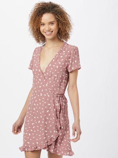Abercrombie & Fitch Kleid in pink / weiß, Modelansicht