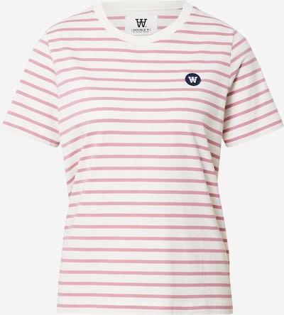 WOOD WOOD Shirt 'Mia' in marine / rosé / weiß, Produktansicht