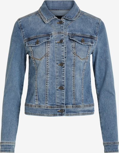OBJECT Between-season jacket in Blue denim, Item view