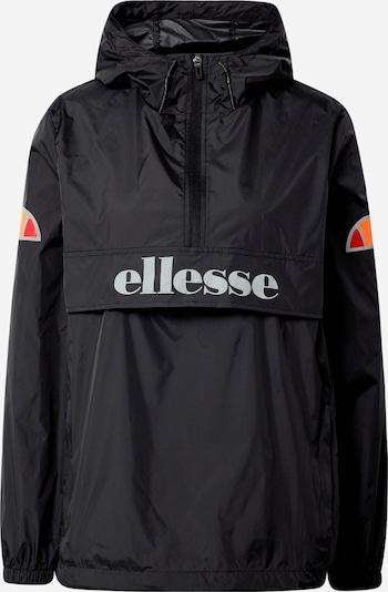 ELLESSE Sport-Jacke 'Toccio' in schwarz / weiß, Produktansicht