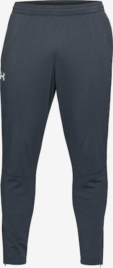 UNDER ARMOUR Sportbroek in de kleur Basaltgrijs / Wit, Productweergave