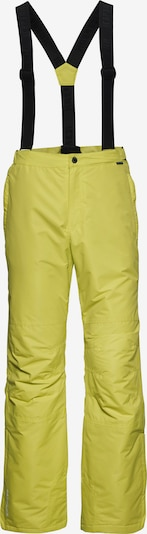 ICEPEAK Outdoorbroek 'TRAVIS' in de kleur Neongeel, Productweergave