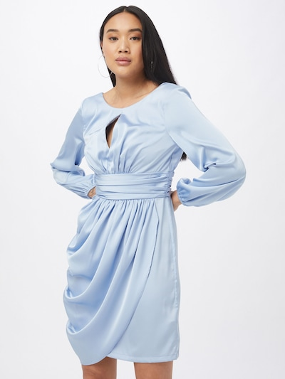 Chi Chi London Kleid 'Eva' in hellblau, Modelansicht