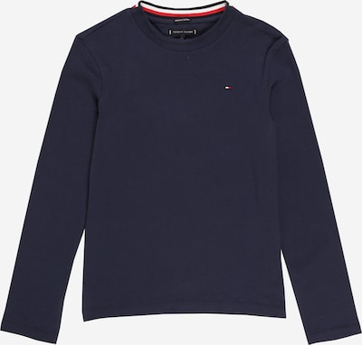 TOMMY HILFIGER Shirt 'SOLID' in navy / rot / weiß, Produktansicht