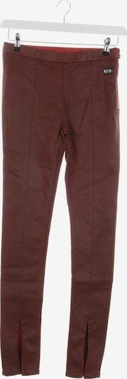 Rick Owens Hose in M in dunkelrot, Produktansicht