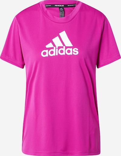 ADIDAS PERFORMANCE Camiseta funcional en lila / blanco, Vista del producto