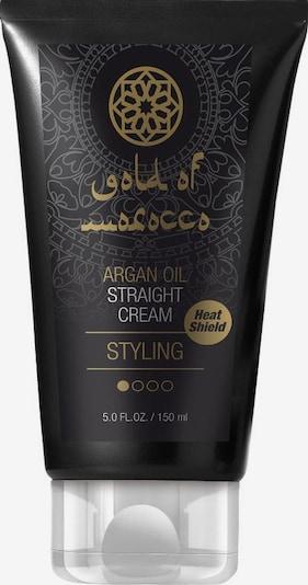 Gold of Morocco Haarcreme 'Straight Cream' in gold / schwarz, Produktansicht