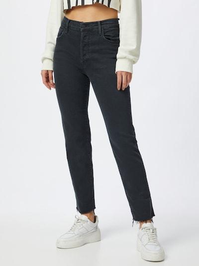 MOTHER Jeans 'THE SCRAPPER CUFF' in schwarz, Modelansicht