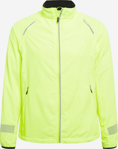 ENDURANCE Laufjacke 'Earlington' in neongrün / schwarz, Produktansicht