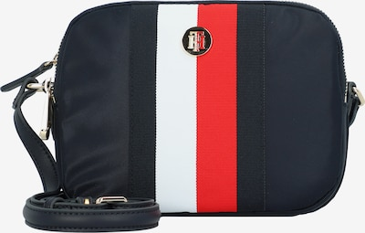 TOMMY HILFIGER Umhängetasche in navy / rot / weiß, Produktansicht