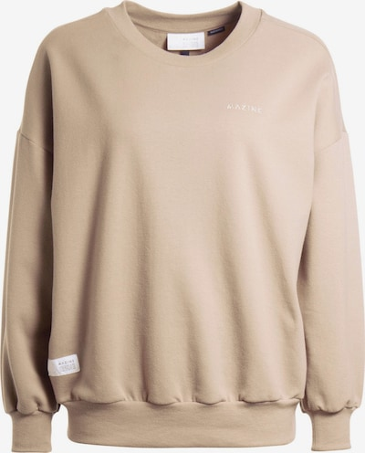 mazine Sweatshirts ' Laura Sweater ' in beige, Produktansicht